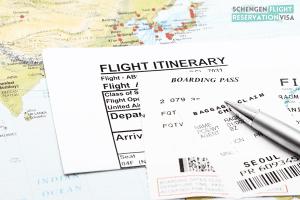 Flight Reservation For Visa Application OR Flight Itinerary OR Dummy Flight Ticket