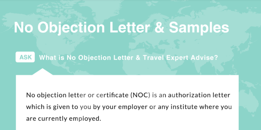 Schengen Flight Reservation Visa  No Objection Certificate From Employer Sample