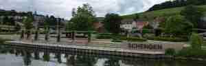 Schengen Agreement Area Small Village in Luxembourg