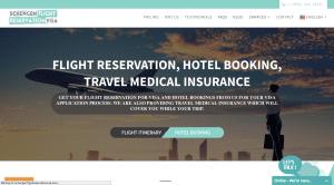 Schengen Flight Reservation Visa Website